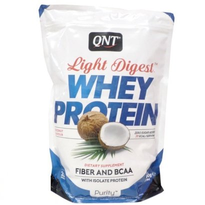 QNT purity light digest eiwitshakes coconut (per 500g)
