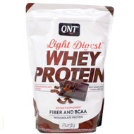 QNT purity light digest eiwitshakes belgian chocolate (per 500g)