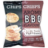 Proteïne chips crisps BBQ (barbecue smaak)
