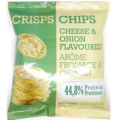 Proteïne crisps chips cheese & onion