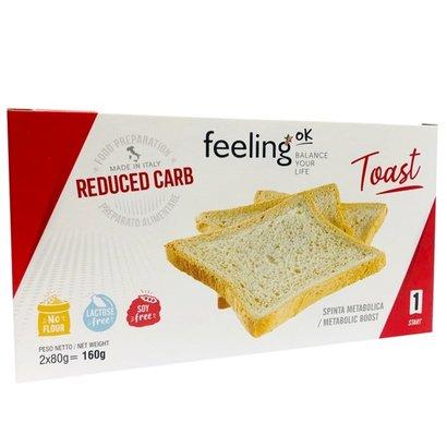 Feeling OK proto toast wit 4x40g (= 4 zakjes a elk 4 toast)
