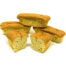 Proteïne cake vanille low carb (per 4 stuks)