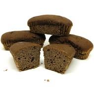 Proteïne cake chocolade low carb (per 4 stuks)