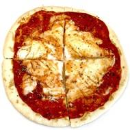 Kant en klare proteïne pizzabodem met tomatensaus (per 2 stuks)