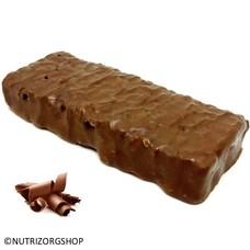 Crispy chocolade proteine reep (low carb)