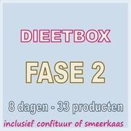 8 dagen FASE 2 dieetbox