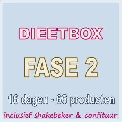 16 dagen FASE 2 dieetbox VOOR SNEL EN BLIJVEND AFVALLEN