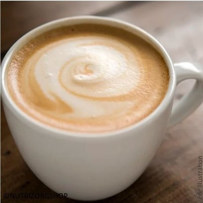 Dieet drank koude/warme cappuccino