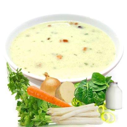 Proteine groentenroomsoep