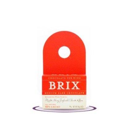 BRIX 3 Ounce Medium Dark Chocolade 60% fleshanger