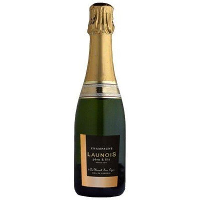 Blanc de Blancs Grand Cru Champagne 0,375l. Launois Père et Fils - Mesnil-sur-Oger, Champagne, Frankrijk