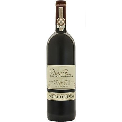Whole Berry Cabernet Sauvignon Springfield Estate - Robertson Valley, Zuid-Afrika