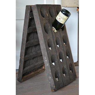 Pupitre, Champagnerek, Riddling rack grondmodel 30 flessen