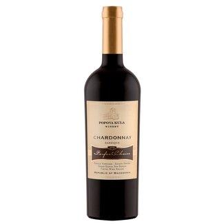 Chardonnay Barrique Perfect Choice Popova Kula - Demir Kapija, Noord-Macedonië