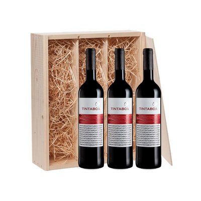 3-fles wijnkist met TintaBoa - Lissabon, Portugal