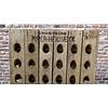 Pupitre, Champagnerek, Riddling rack grondmodel 120 flessen met Champagne Piper-Heidsieck brandmerk