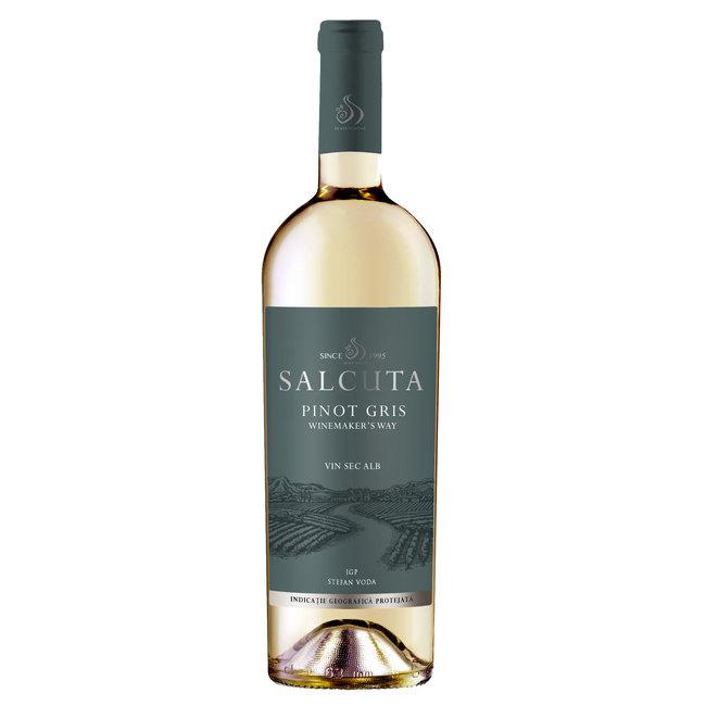 Pinot Gris Salcuta Winemaker's Way - Stefan Voda, Moldavië