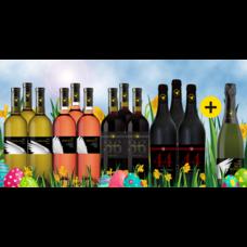 Paas Pakket bestaande uit 12+1 flessen wijn