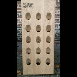 Pupitre, Champagnerek, Riddling rack grondmodel 30 fl. Saint-Leban brandmerk