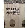 Pupitre, Champagnerek, Riddling rack grondmodel 120 flessen Saint-Leban brandmerk
