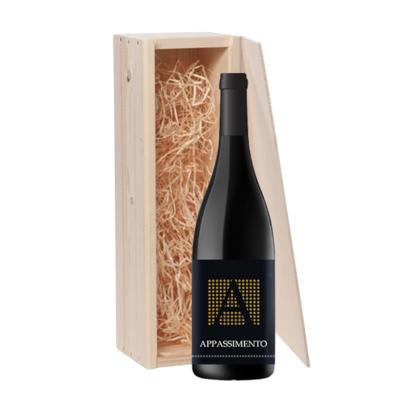 1-fles wijnkist Appassimento Progetto Vino - Puglia, Italië