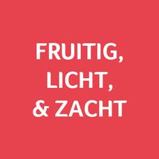 Fruitig, licht en zacht