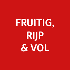 Fruitig, rijp en vol