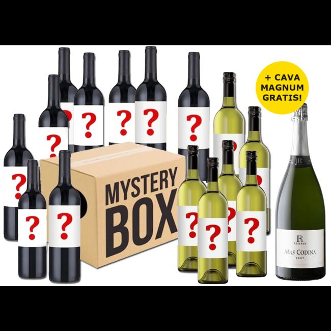 Favorieten Pakket 2020 uit 15 flessen wijn + Cava Magnum GRATIS!