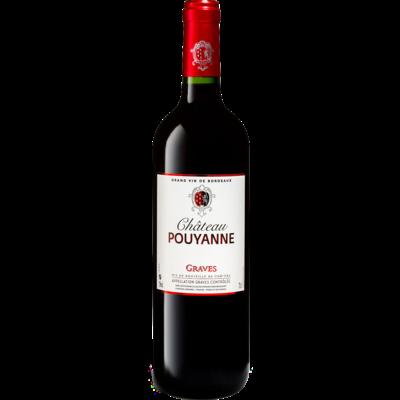 Château Pouyanne Graves Rouge 2018 MAGNUM 1.5L - Graves, Bordeaux, Frankrijk