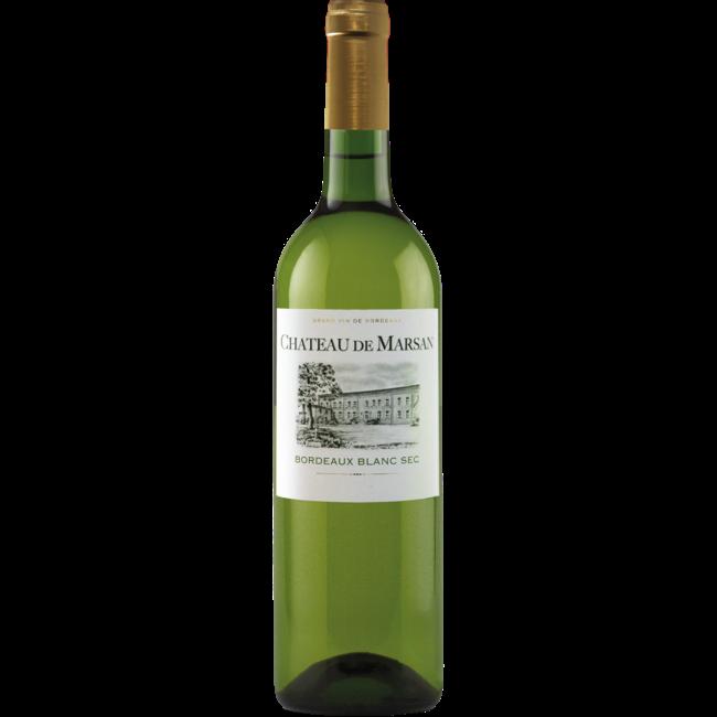 Château de Marsan Bordeaux Blanc Sec Grand Vin de Bordeaux - Bordeaux, Frankrijk