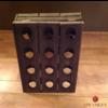 Pupitre, Champagnerek, Riddling rack grondmodel 24 flessen