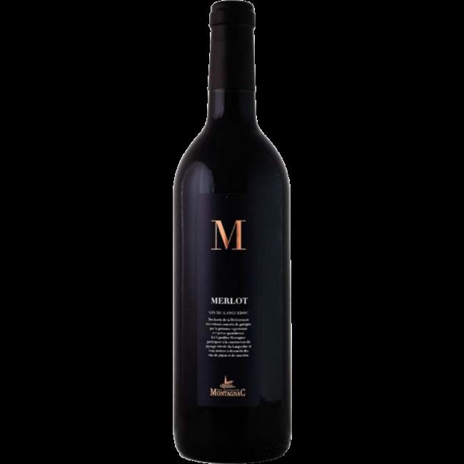 Montagnac M Merlot I.G.P. - Languedoc, Frankrijk