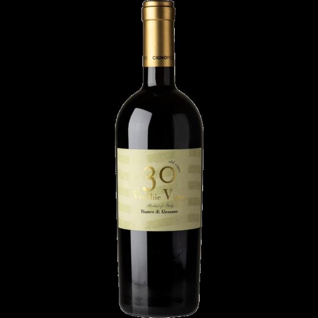30 Vecchie Vigne 2017 Bianco di Alessano CignoMoro - Puglia, Italië