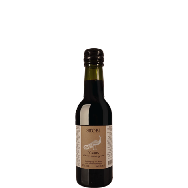 Stobi Winery Vranec 187ml Stobi Winery - Tikvesh, Noord-Macedonië