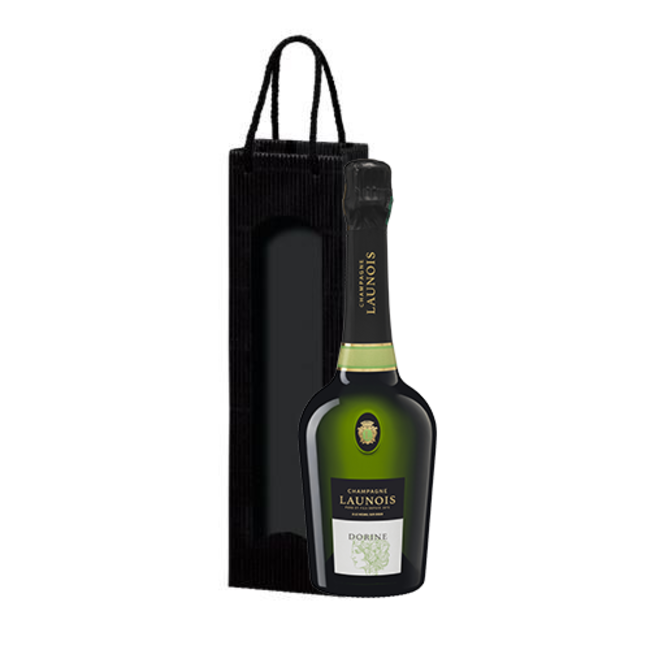 1-fles wijngeschenk Launois Père et Fils Cuvée Dorine - Mesnil-sur-Oger, Champagne, Frankrijk