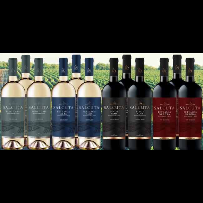 Kennismakingspakket Moldavië bestaande uit 12 flessen wijn