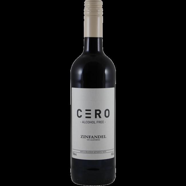 Cero Zinfandel 0.0% Alcoholvrij - Californië, Verenigde Staten
