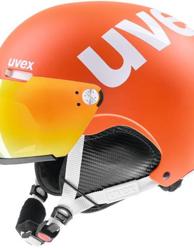 Uvex Helm 500 visor orange mat