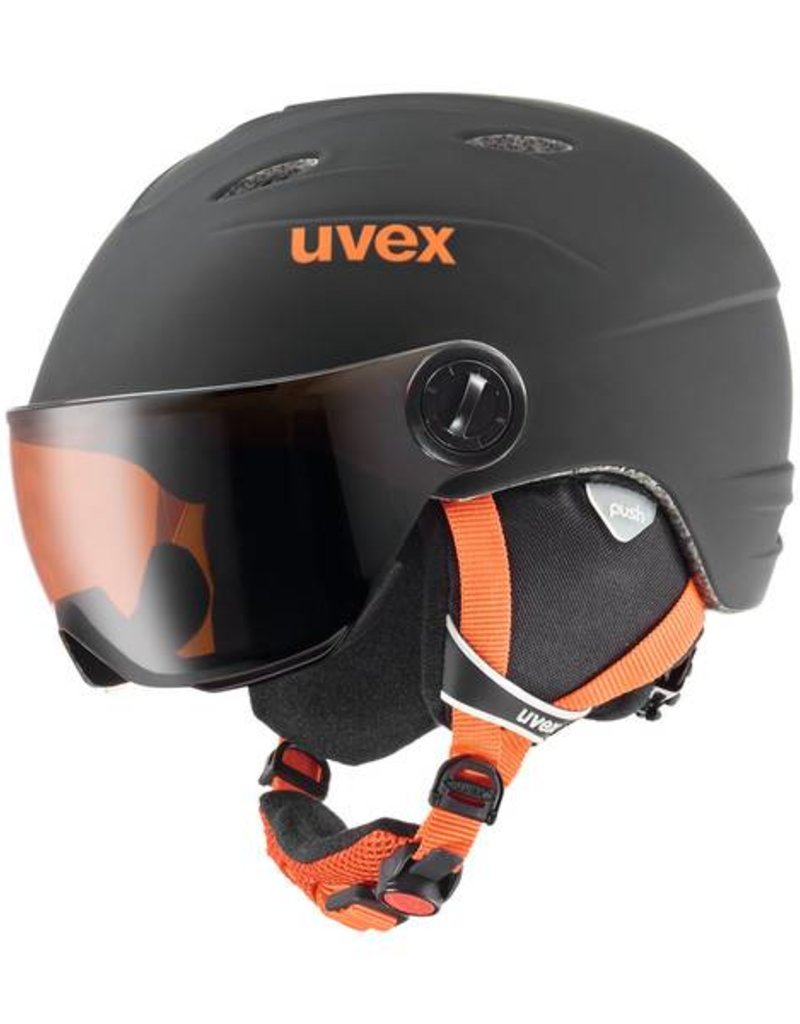 Uvex Junior Helm Visor Pro black/ orange