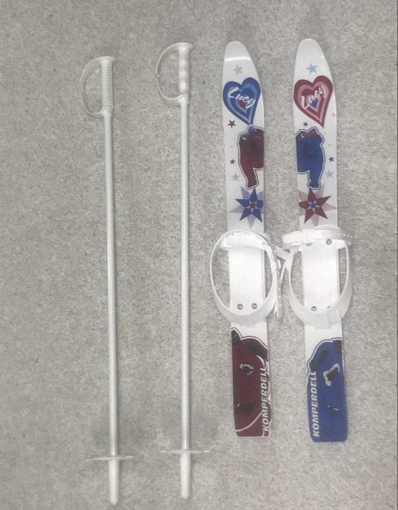 Pale Kinderski plastic set + stokken