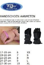 Ziener Snowboardhandschoen Merfos unisex zwart met polsbescherming