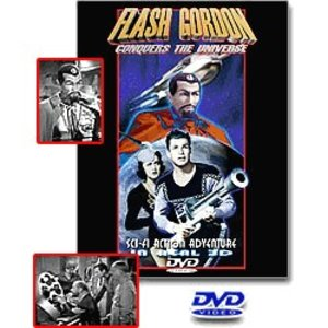 Flash Gordon 3D DVD