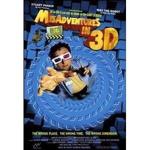 Misadventures in 3D. 3D DVD