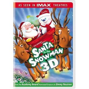 Santa vs. the Snowman 3D DVD