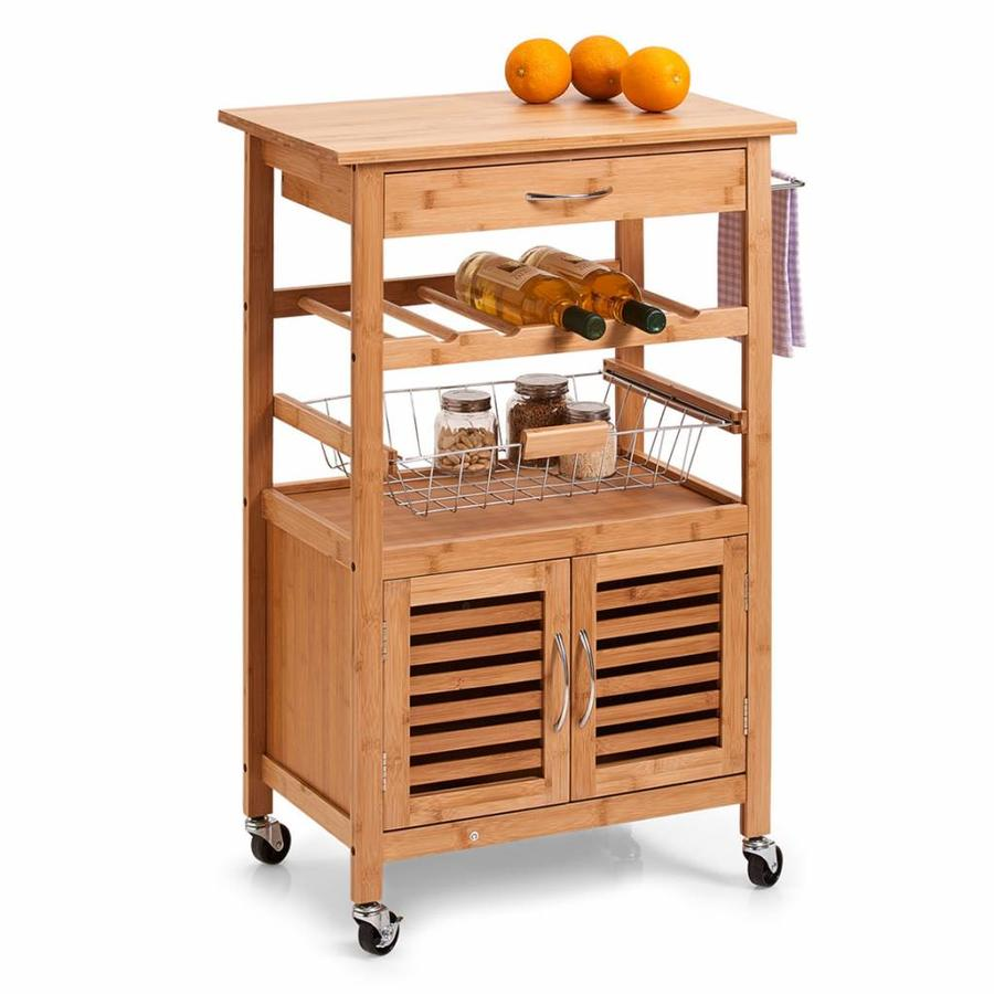 Zeller Present Houten keukentrolley
