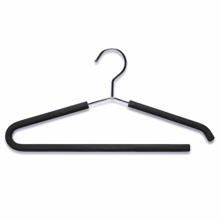 Zeller Present Metalen kledinghanger met antislip schuimmantel