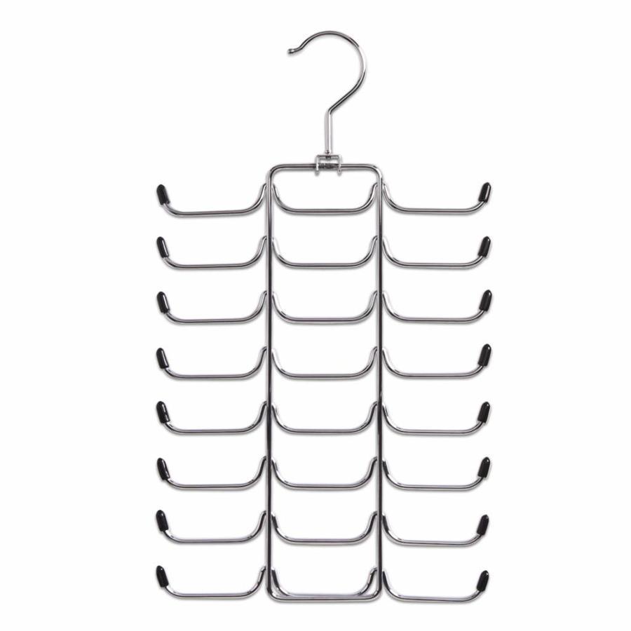 Zeller Present Stropdassenhanger 24 plaatsen chroom