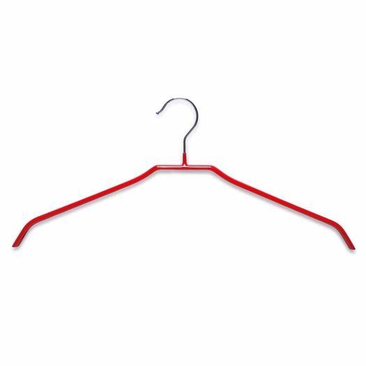 Metalen kledinghanger rood