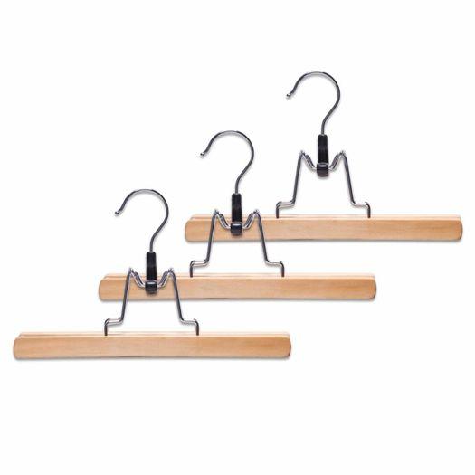 Broekklemmen (set van 3) hout