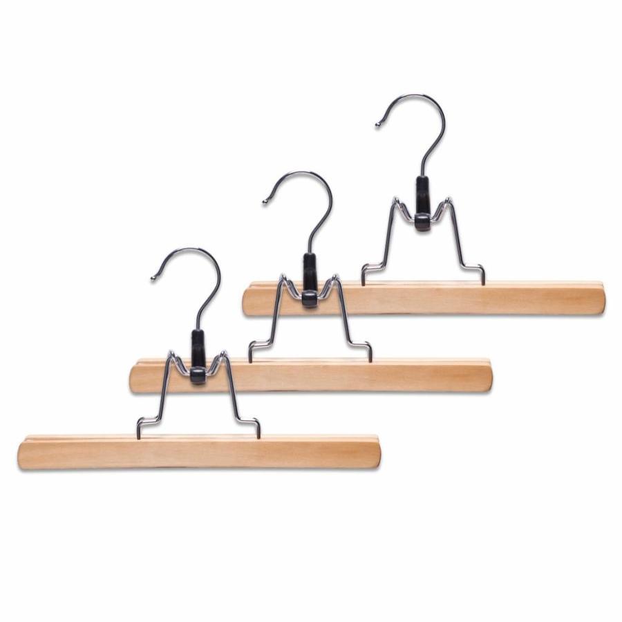 Zeller Present Broekklemmen (set van 3) hout